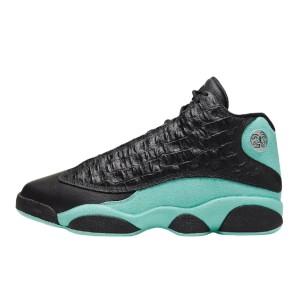 Jordan 13 Retro Black Island Green 414571-030