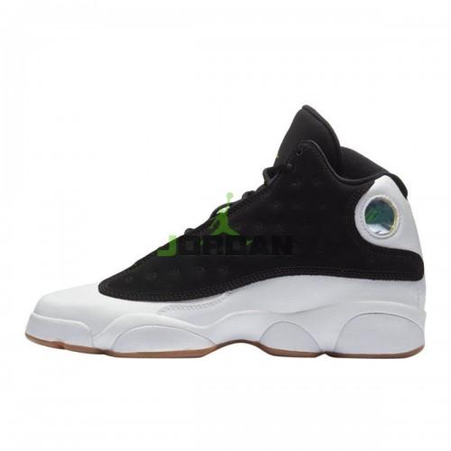 Jordan 13 Retro Black White Gum 439358-021