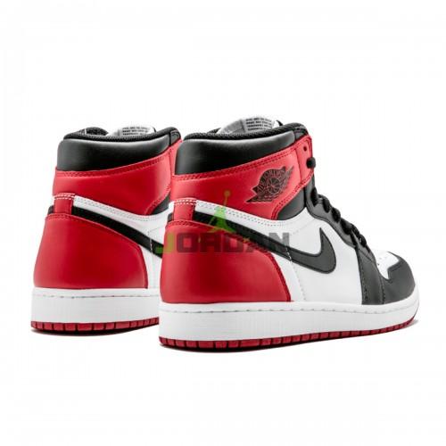 Jordan 1 Retro High Black Toe 555088-125