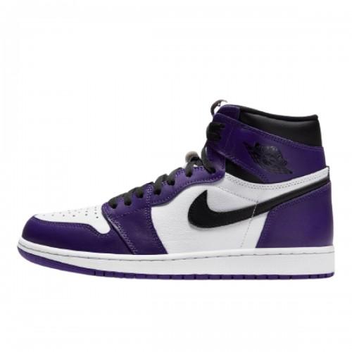 Jordan 1 Retro High Court Purple White 555088-500