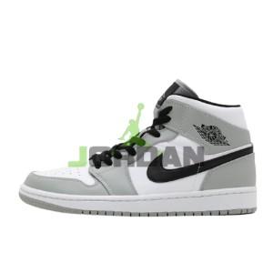 Jordan 1 Retro Mid Light Smoke Grey 554724-092