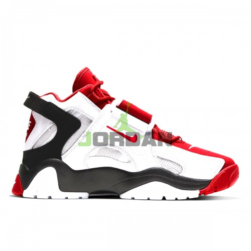 Air Barrage Mid White Black Red AT7847-102